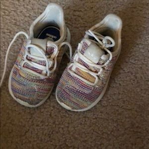 Toddler girls adidas sneakers. Size 5